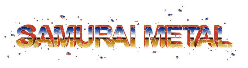 samurai metal logo
